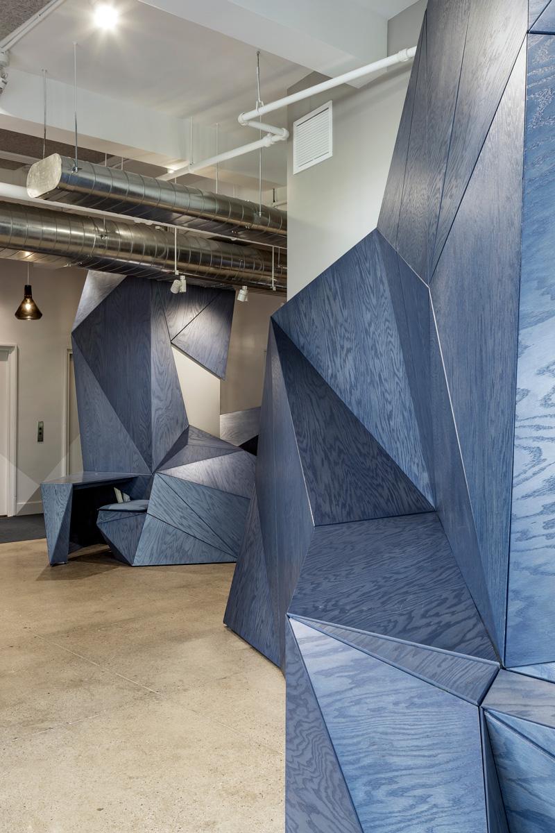 RAW SonicUnion CNC Plywood Wall by Timbur LLC