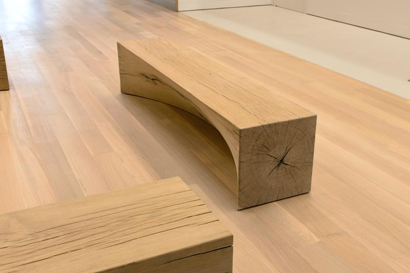Big Robot Bench Furniture Production by Timbur LLC