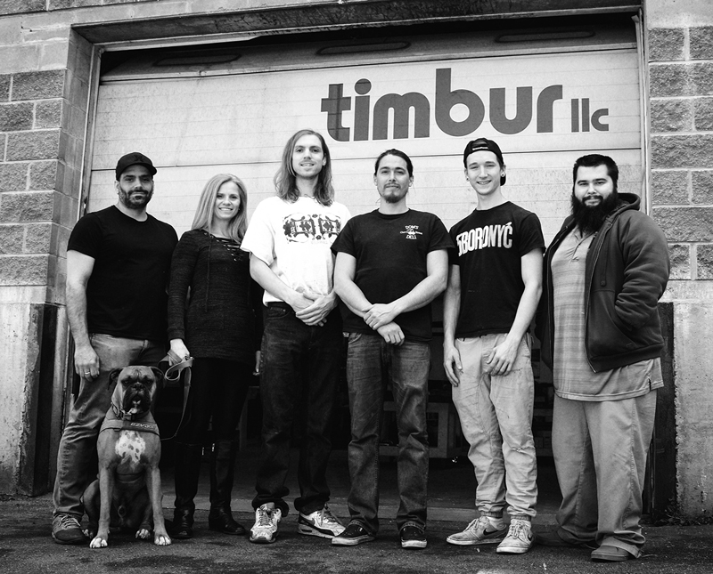 Timbur LLC 2019 Team Photo
