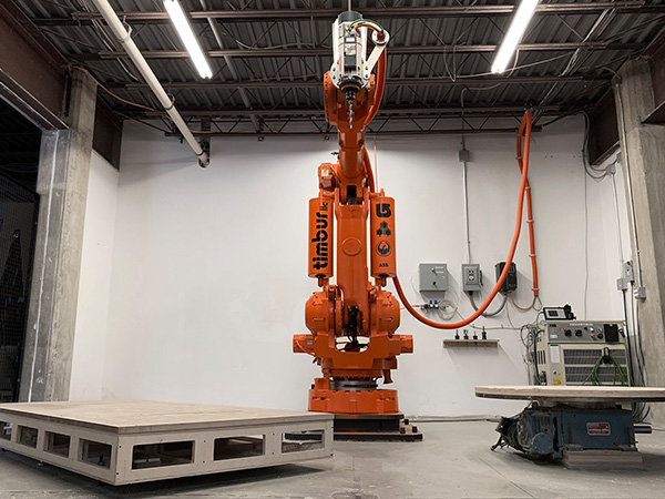 Timbur LLC Robot for Digital Fabrication in NYC Area